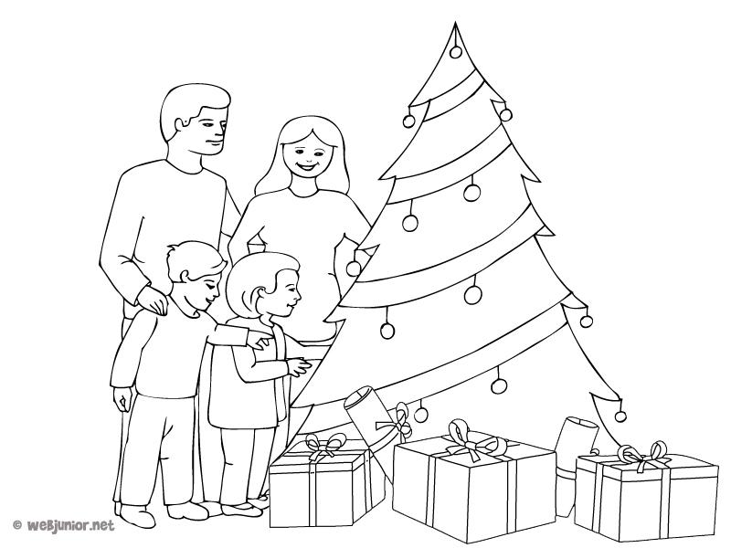 snap coloriage de noel en famille dessin photos on pinterest