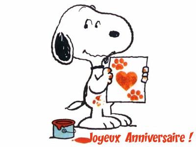 Carte Virtuelle Snoopy Pour Enfant Envoyer Carte D Anniversaire